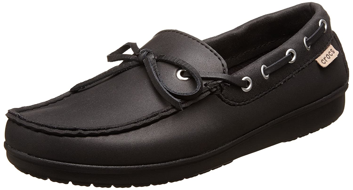 5affaf8e5eb319 crocs Wrap ColorLite Women Loafer in Black  Buy Online at Low Prices in  India - Amazon.in