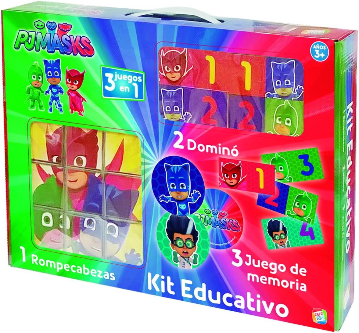 PJmask- Kit Educativo (CEFA Toys 88248): Amazon.es: Juguetes ...