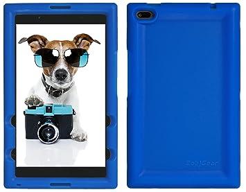 BobjGear Carcasa Resistente para Tablet Lenovo Tab 4 8 Inch, TB-8504F, TB-8504X (No para Tab 4 8 Plus TB-8704) - Bobj Funda Protectora (Azul)