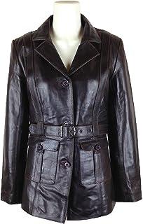 f137fe99f45 UNICORN Womens Sheepskin Flying Jacket - Brown And Cream - 'Air ...