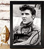 ELVIS PRESLEY Signed Autographed Photo 4x6 Reprint RP PP - Flaming Star