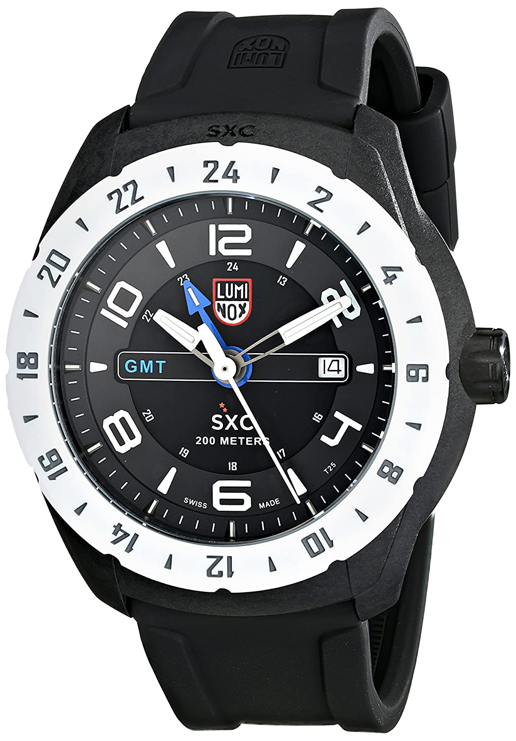 Luminox Herren-Armbanduhr XL Analog Quarz Kautschuk 5027
