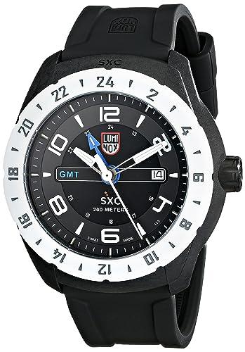Luminox 5027 - Reloj para hombres, correa de goma color gris: Amazon.es: Relojes