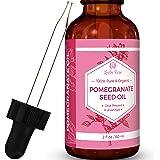 #1 TRUSTED Leven Rose Pomegranate Seed Oil - 100% Organic (Cold Pressed, Unrefined) - 2 oz