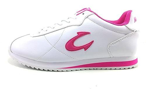 John Smith Corsan Zapatilla Mujer Blanca Casual: Amazon.es: Zapatos y complementos