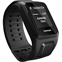 TomTom Spark Cardio - Montre Fitness GPS - Bracelet Large Noir (ref 1RF0.002.00)