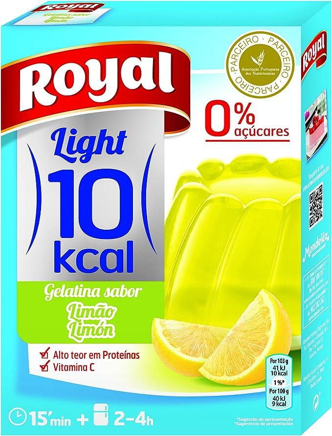 Royal Gelatina de Limon - Paquete de 12 x 2.58 gr - Total: 31 ...