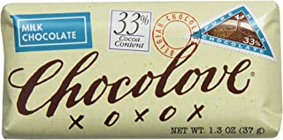 product image for Chocolove Pure Milk Chocolate Mini Bar, 1.3000-ounces (Pack of 12)