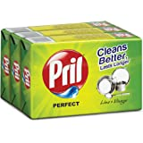 Pril Dish Wash Bar - 200 g (Set of 3)