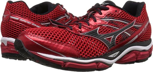 Mizuno Wave Enigma 5 Hombre US 12.5 Rojo Zapato para Correr ...