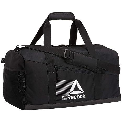 bfc396a8b5ef4 Amazon.com: Reebok Active Foundation Medium Grip Holdall - Black ...