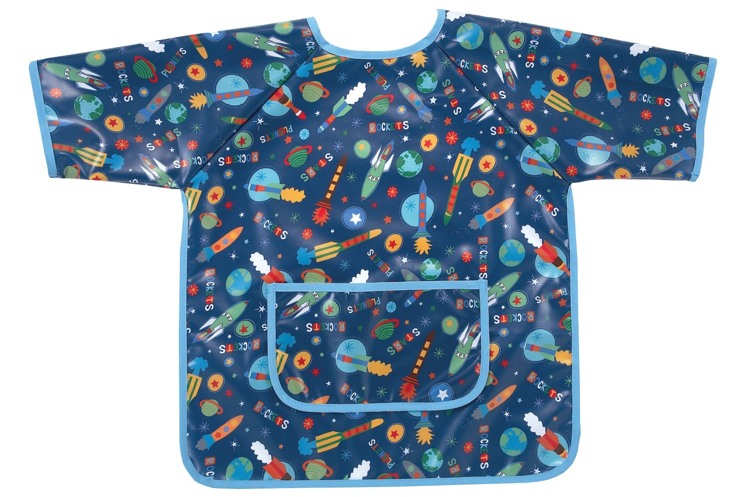 AM PM Kids! Art Smock, Outer Space 63027