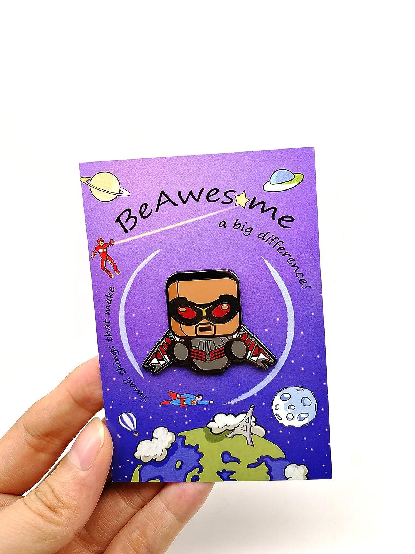 Marvel Legends BeAwesome Exclusive Super Heroes Enamel Pins DC Heroes Rocket