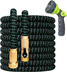 360Gadget Expandable and Flexible Garden Hose 25 ft Water Hose with 3/4
