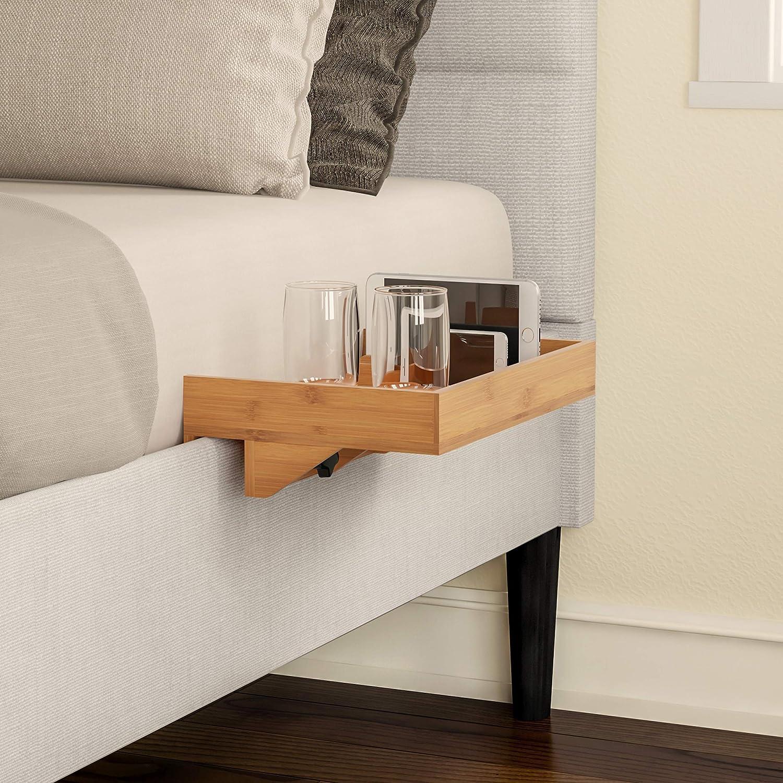Tremendous Lavish Home Bedside Shelf Eco Friendly Bamboo Modern Clamp Download Free Architecture Designs Scobabritishbridgeorg