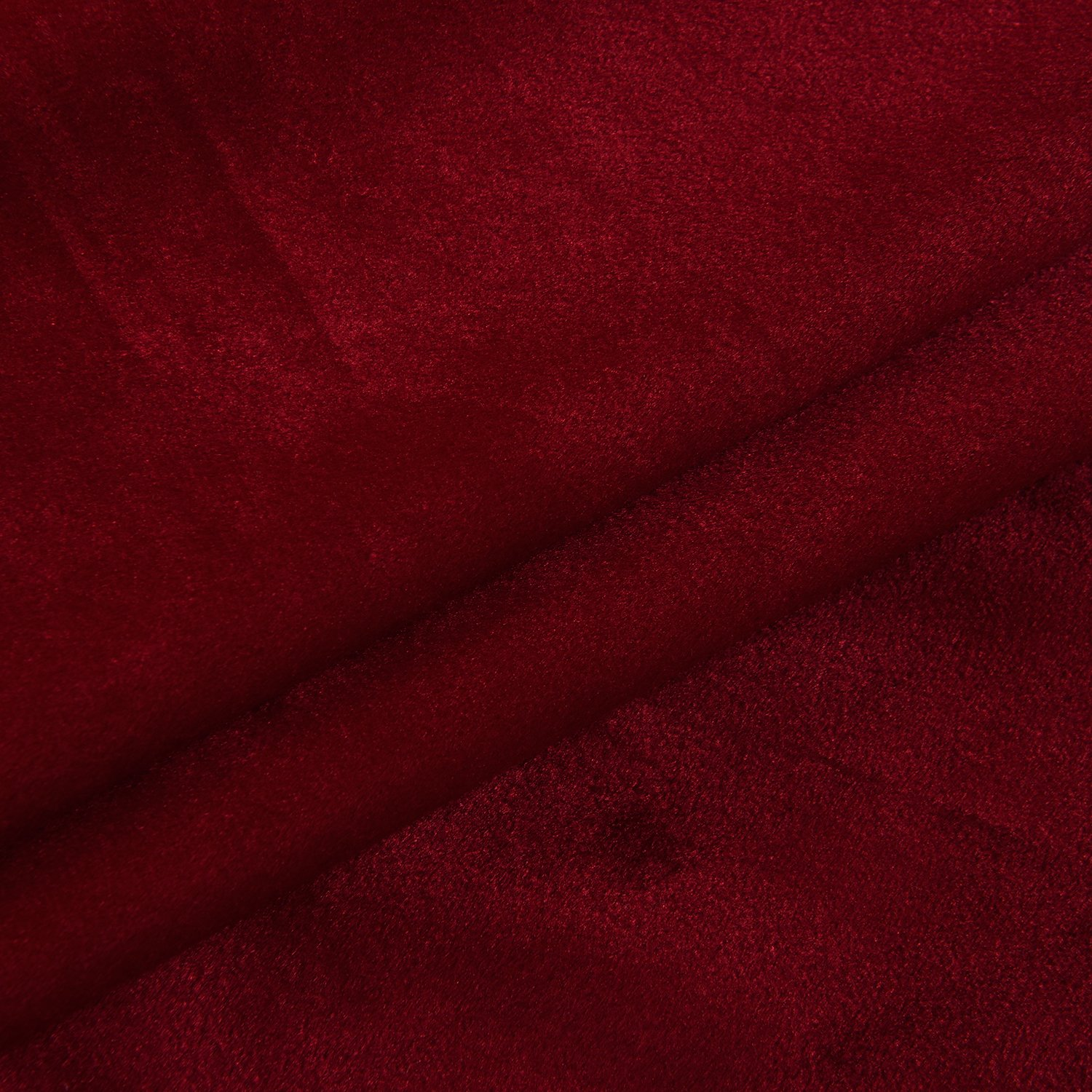 Cherry Home Set of 2 Classic Blackout Velvet Curtains Panels Home Theater Grommet Drapes Eyelet 52Wx63L-inch Red(2 panels)Theater  Bedroom  Living Room  Hotel by Cherry Home (Image #9)