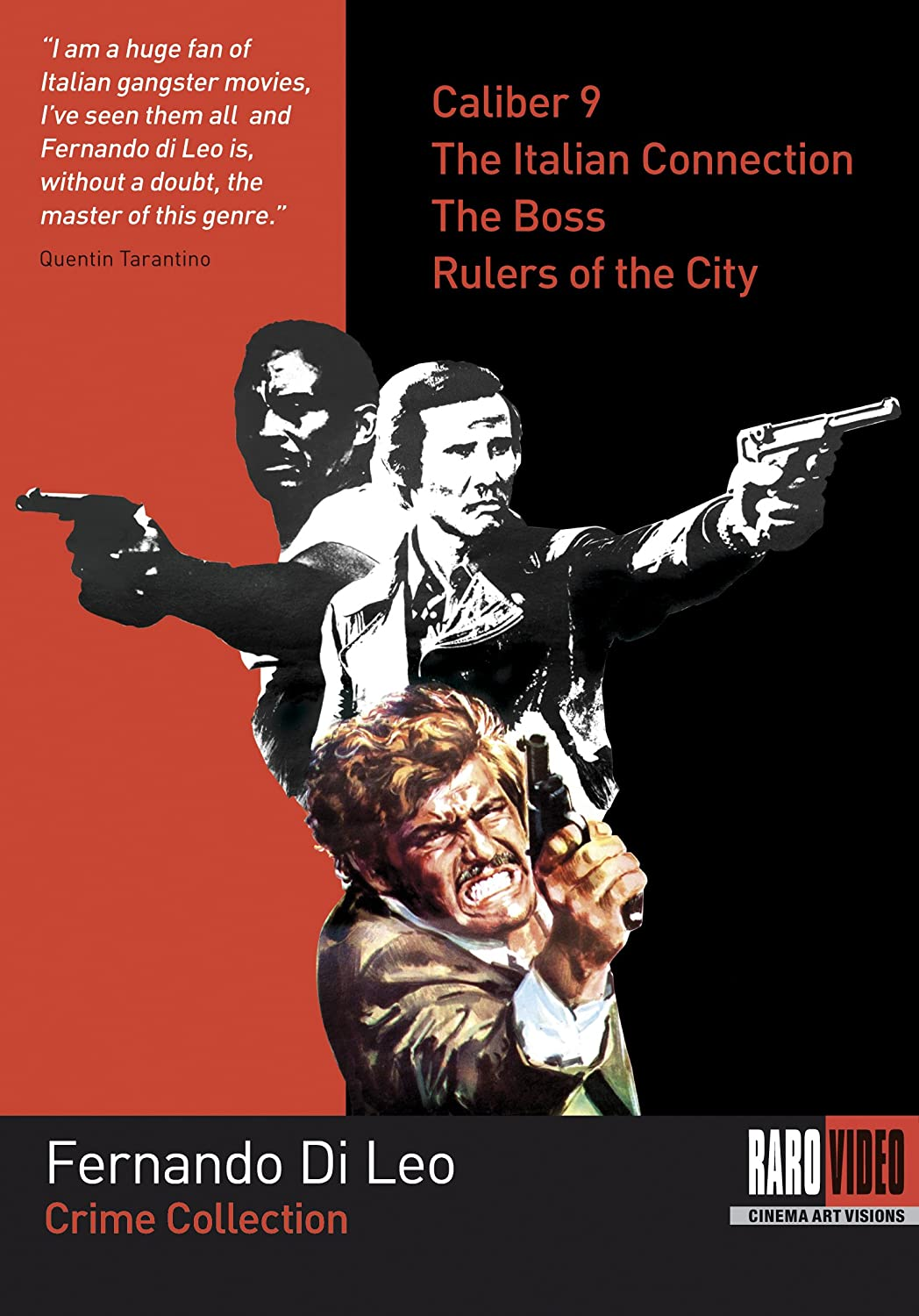 Amazon.com: Fernando Di Leo Crime Collection (Caliber 9 / The Italian  Connection / The Boss / Rulers of the City): Jack Palance, Henry Silva, ...