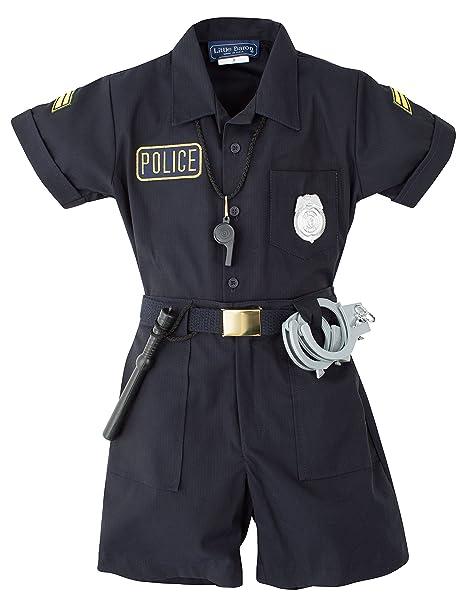 Amazon.com: Uniforme de la Policía de los niños Outfit ...