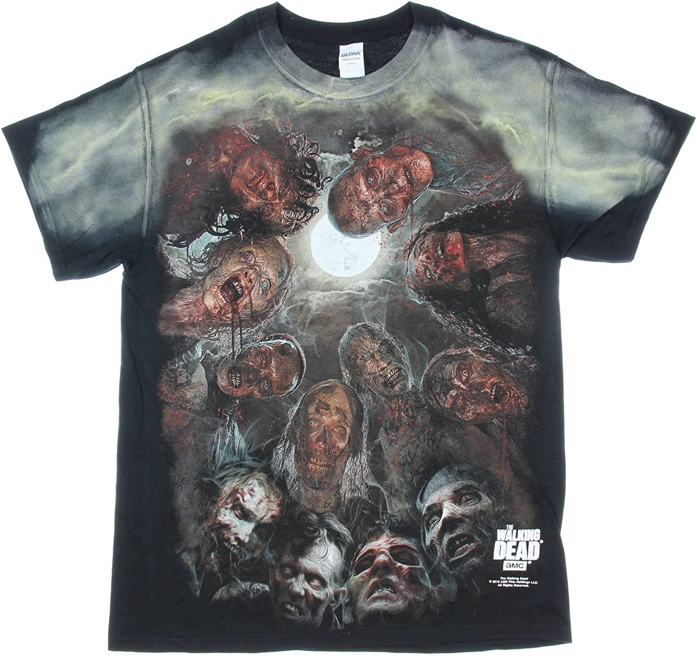 Walking dead montage original art t-shirt