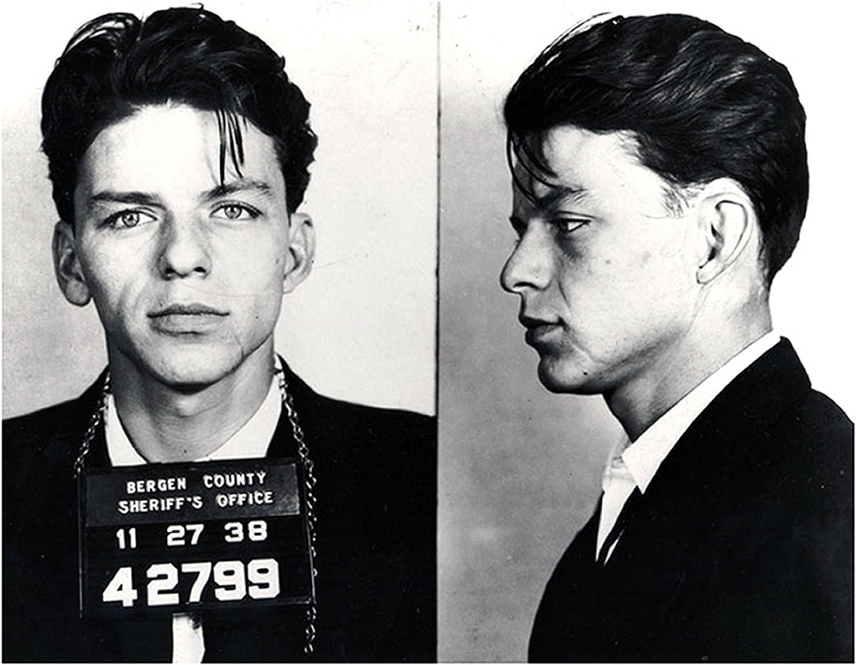 "Frank Sinatra Mugshot Bergen County 13 x 19/"" Photo Print"