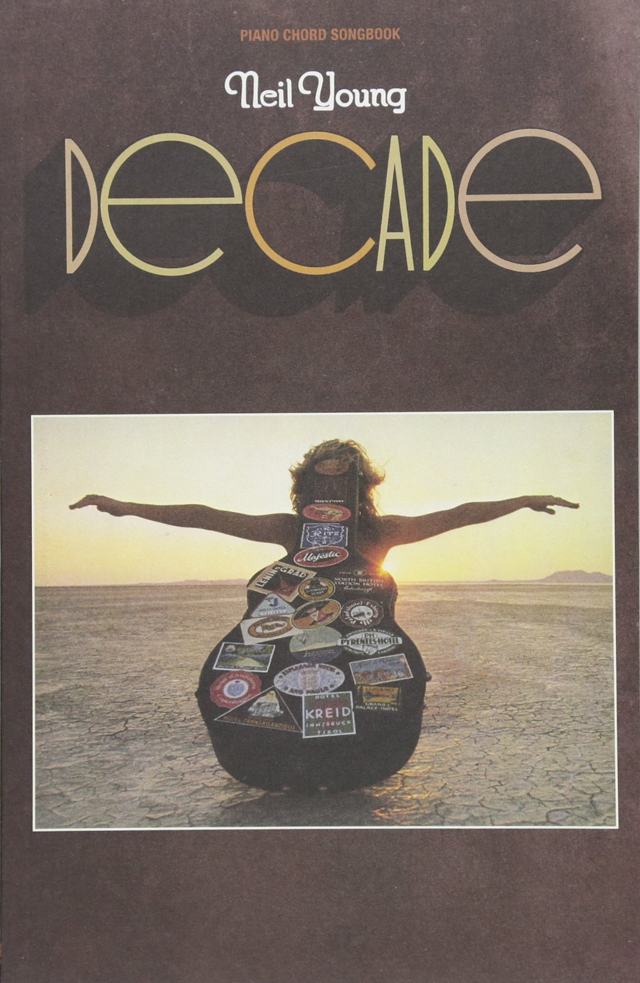 Neil Young Decade Piano Chord Songbook Neil Young