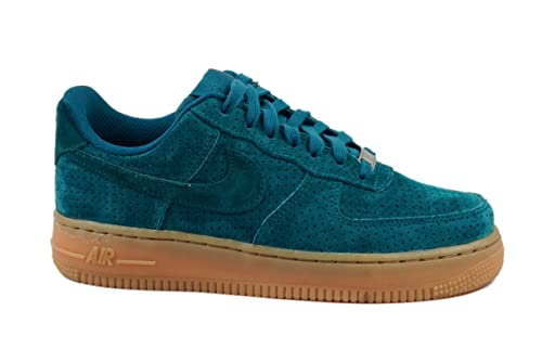aliexpress huge inventory cozy fresh Amazon.com | Nike Women's Air Force 1 '07 Suede Teal Blue ...