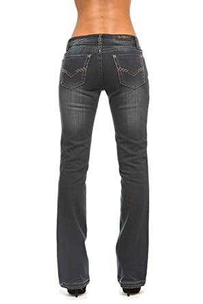Rubberband Jeans Women's Bootcut Jeans (Randi / Grey Onyx) at ...