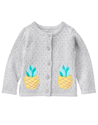 a3c9ffe1d869 Amazon.com  Gymboree Baby Girls  Toddler Button Up with Pineapple ...