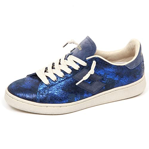 E Sneakers it Autograph Amazon Borse Leggenda Scarpe Pelle Blu Lotto Donna wRFnp