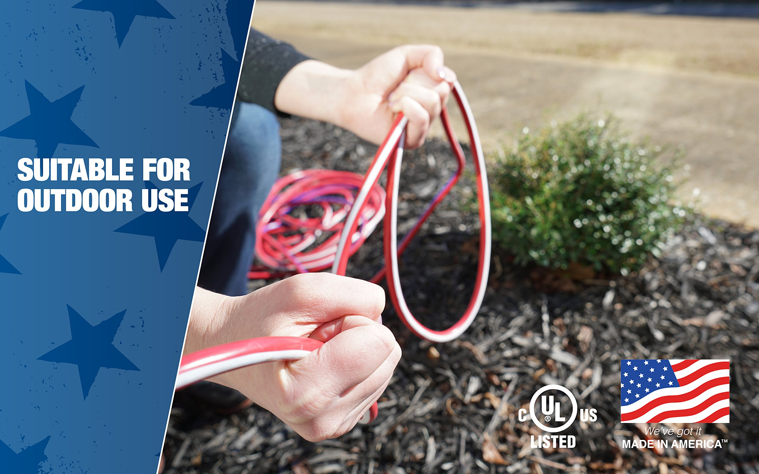 Southwire 2549SWUSA1 100-Feet Contractor Grade 12/3 with Lighted End American Made Extension Cord by Southwire (Image #3)