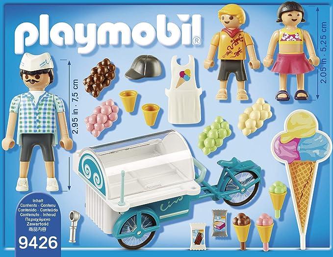 Playmobil Carrito de Helados Juguete geobra Brandstätter 9426: Amazon.es: Juguetes y juegos