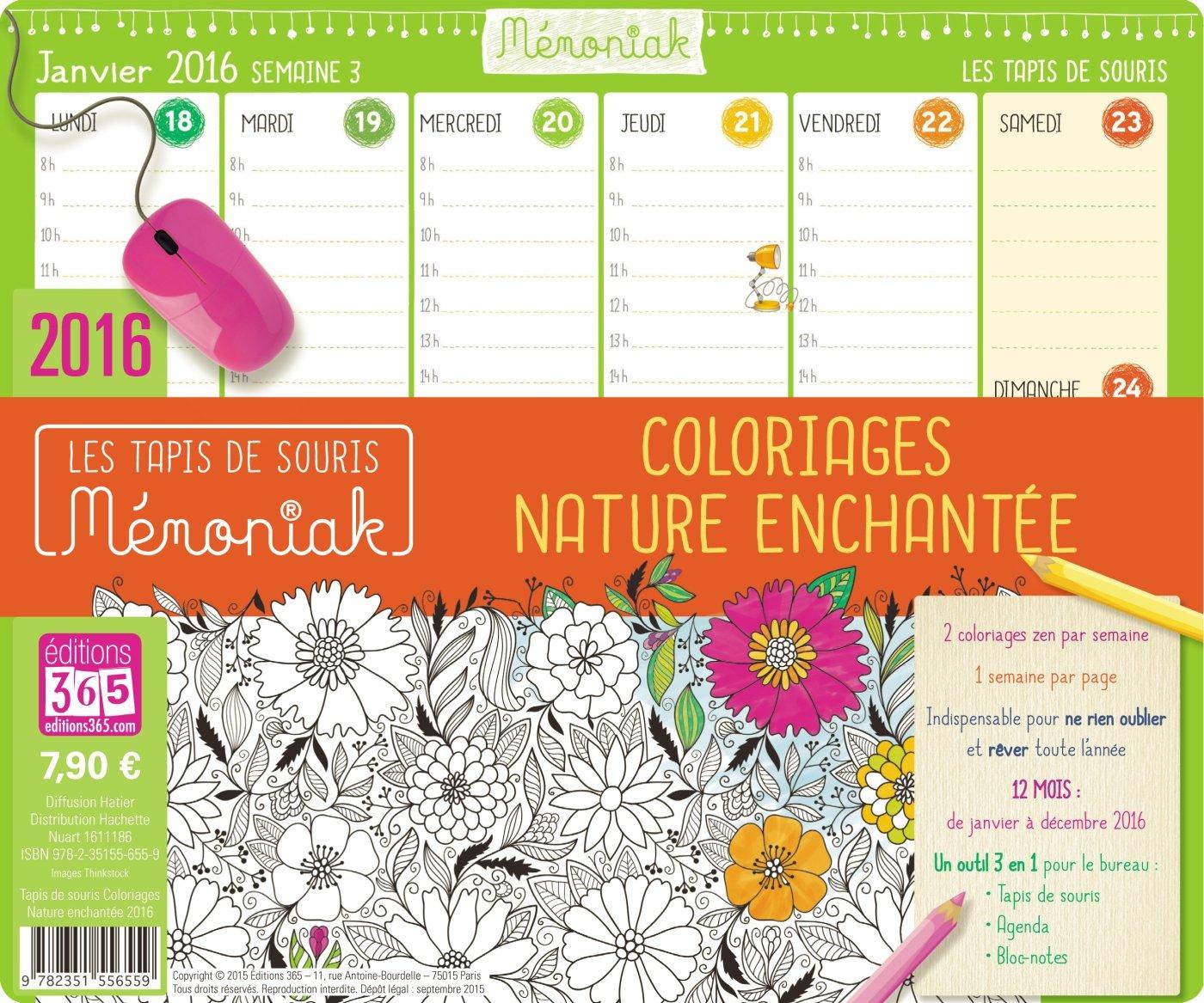 Buy Tapis De Souris Memoniak Coloriages 2016 Book Online At Low
