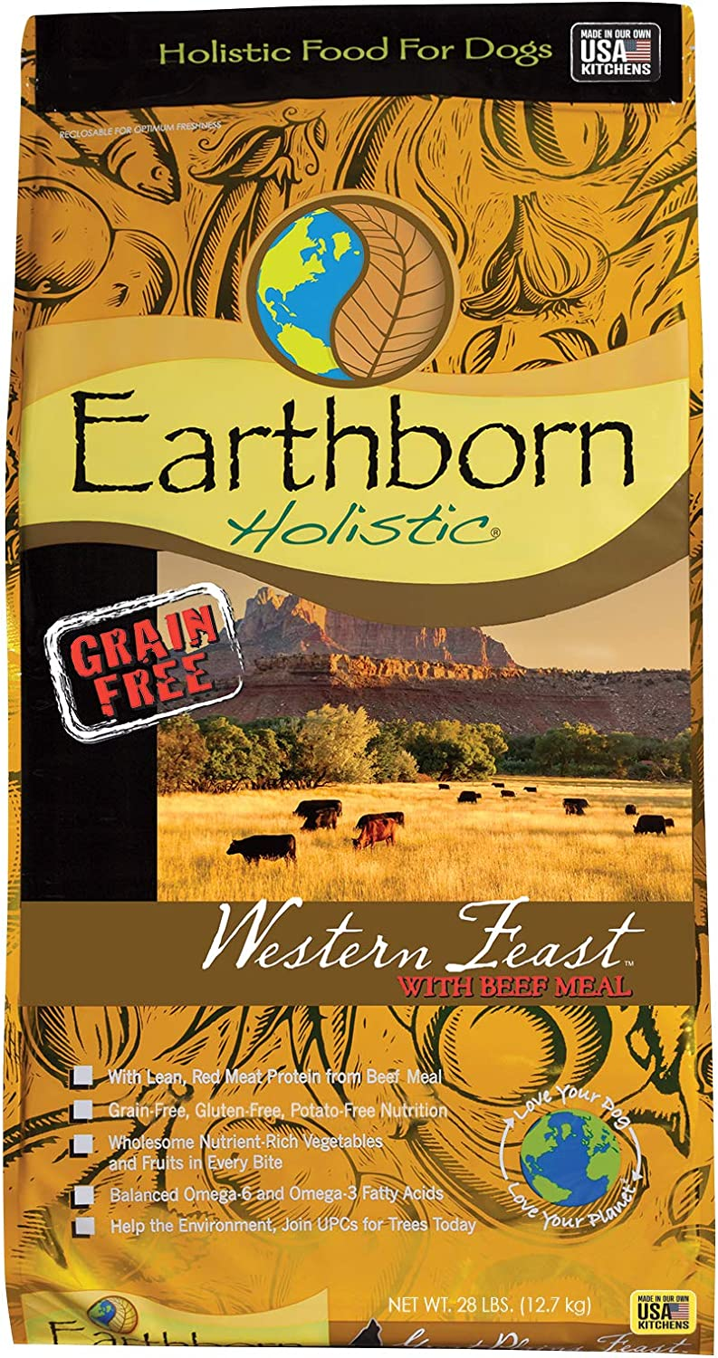 Earthborn Holistic Western Feast Grain-Free Dry Dog Food