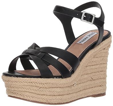 be91e8ff24 Amazon.com   Steve Madden Women's Knight Wedge Sandal   Platforms ...