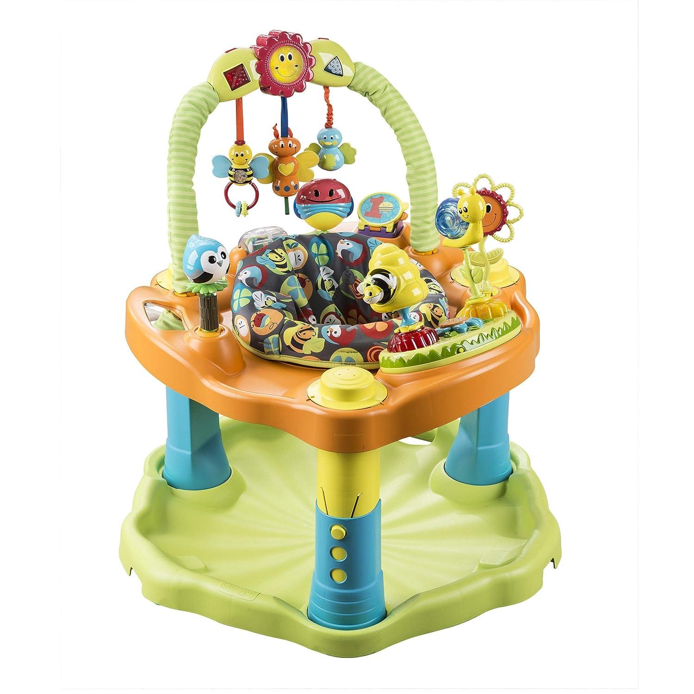 736e0d7d8 Amazon.com   Evenflo Bumbly ExerSaucer Double Fun Saucer   Baby