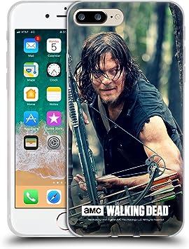 Head Case Designs sous Licence Officielle AMC The Walking Dead Action D'épier Daryl Dixon Coque en Gel Doux Compatible avec Apple iPhone 7 Plus/iPhone ...