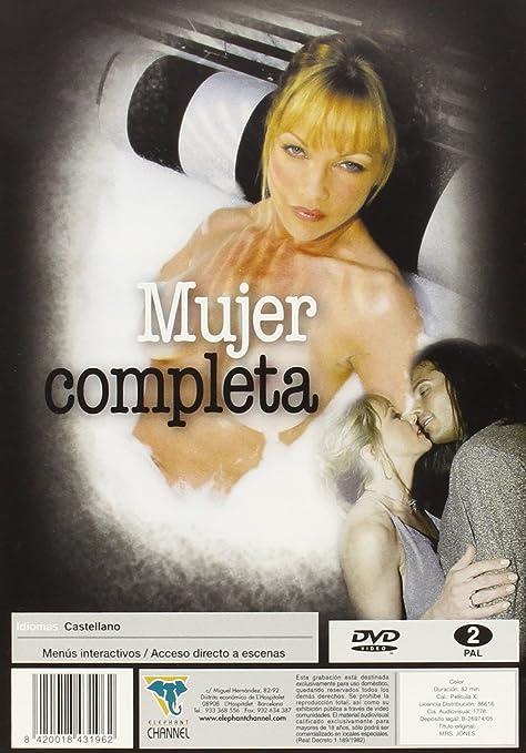 Mujer completa [DVD]: Amazon.es: Shayla Laveaux, Ana Vincent, Roy Karch, no  disponible: Cine y Series TV
