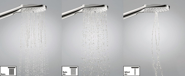 Hansgrohe 26530400 7880009 Raindance Select S120 Douchette Blanc//Chrom/é