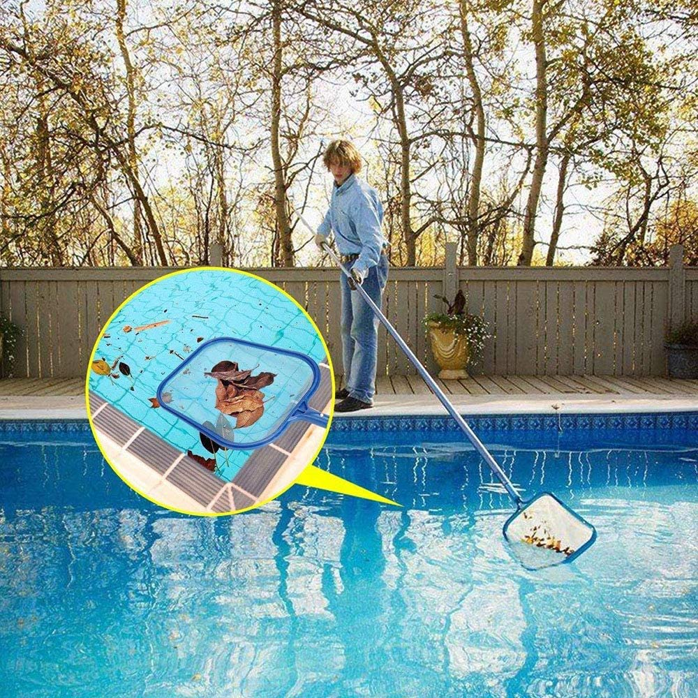 Forepin Recogehojas Leaf Skimmer recogedor de Hojas Jardin Recoger Pl/ástico Hojas Piscina