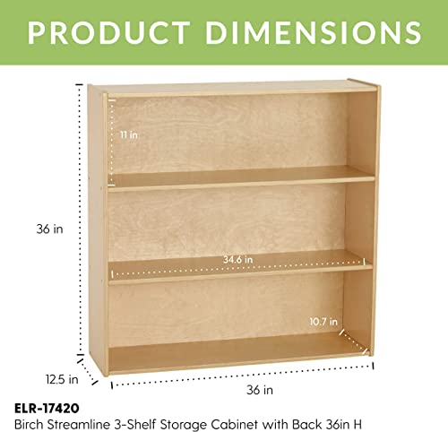 ECR4Kids Birch Streamline Storage Cabinet
