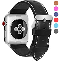 Fullmosa Bosin Show Calf Leather Replacement Band/Strap for Apple iWatch Series 1 2 3 Sport