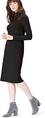 Marca Amazon - find.  Vestido Largo  para Mujer