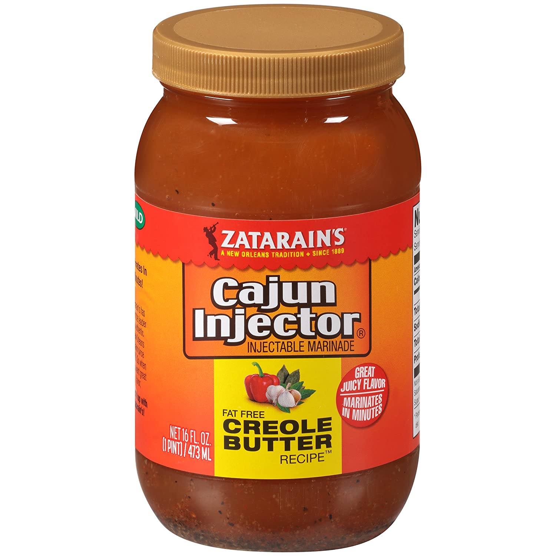 Zatarain's Cajun Injectors Creole Butter Recipe Injectable Marinade Refill, 16 oz