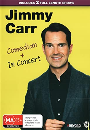 Amazon Com Jimmy Carr Comedian In Concert Dvd Jimmy Carr Paul
