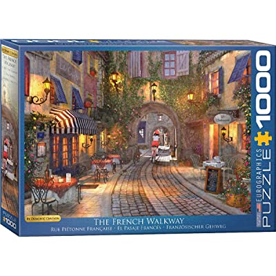 EuroGraphics The French Walkway by Dominic Davison 1000-Piece Puzzle: Toys & Games