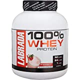 Labrada Nutrition Lean Pro 100% Whey Protein Powder, Strawberry, 4.13 lb