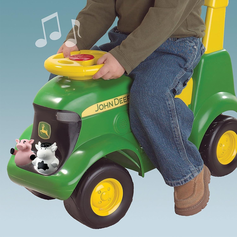 & Amazon.com: TOMY John Deere Sit u0027N Scoot Activity Tractor: Toys u0026 Games