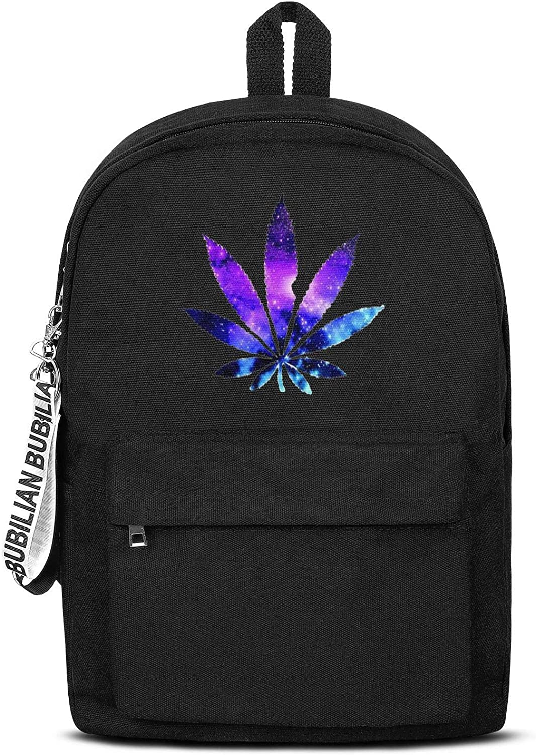 Marijuana Weed Pot Plant Manager Laptop Backpack Unisex Water Resistant Canvas Rucksack Grocery for Men Women or Kids
