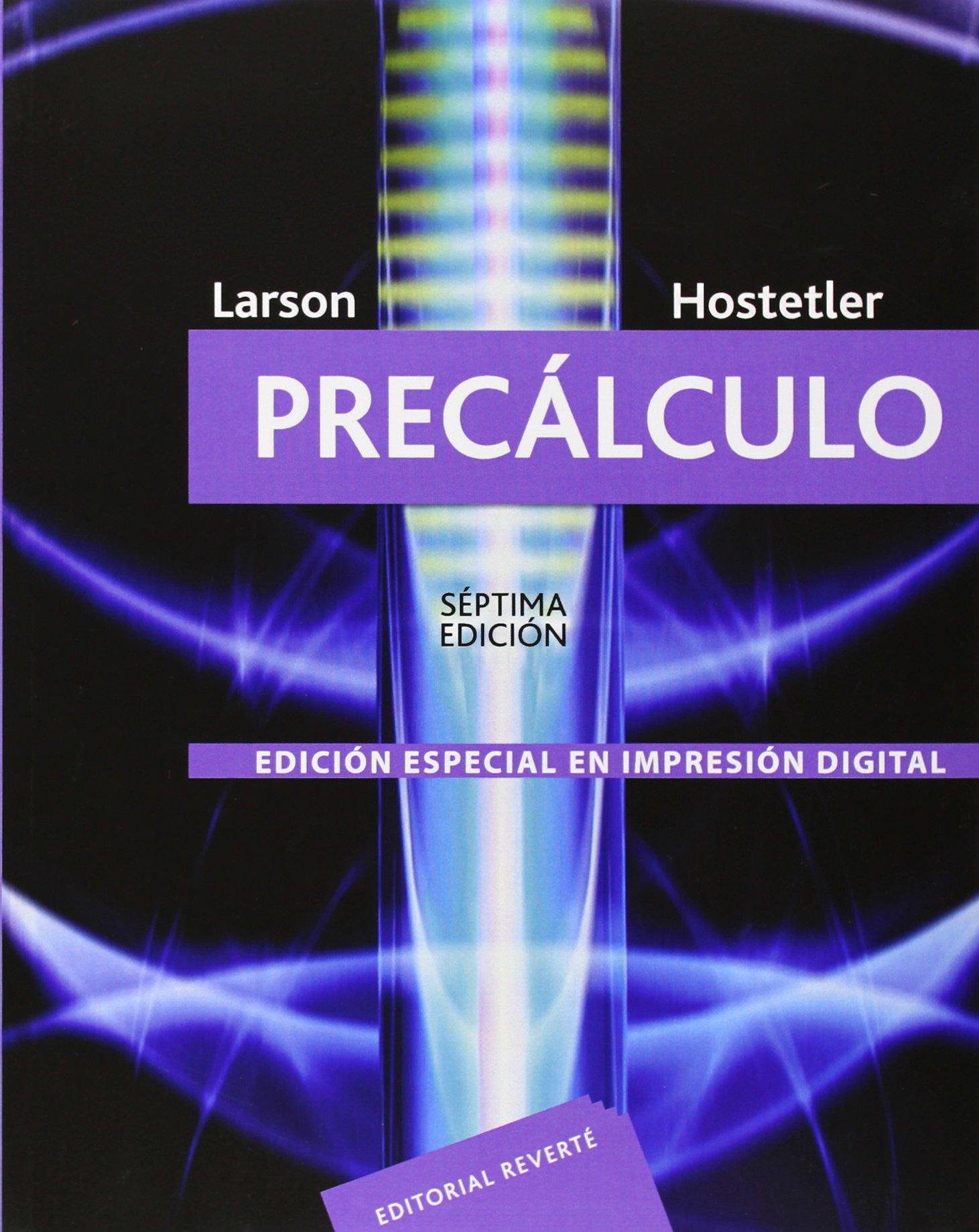 Precálculo: Amazon.es: Larson, Ron, Cardenas, Javier Leon: Libros
