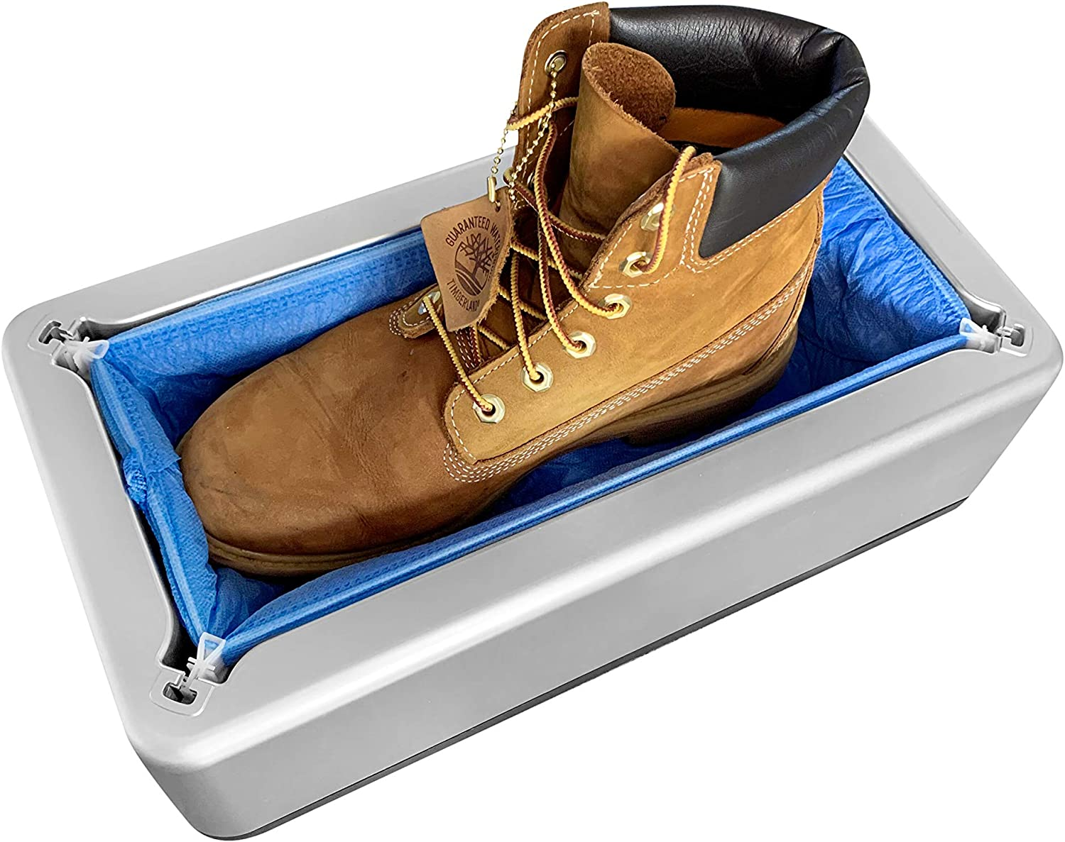 Only Cloth Automatic Protective Shoe Cover Machine with 100 CLOTH Covers INCLUDED!